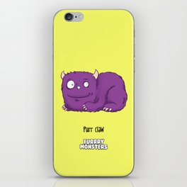 Purr claw iPhone Skin