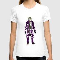 the joker T-shirts featuring Joker by Ayse Deniz