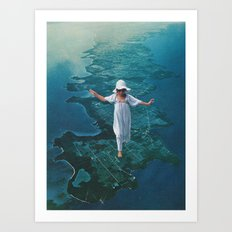peninsula Art Print