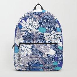 Blue Koi Ripples Backpack