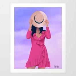 Le Chapeau Art Print