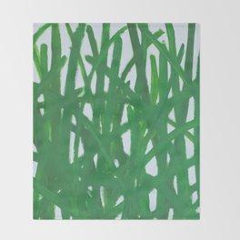 grasses Throw Blanket