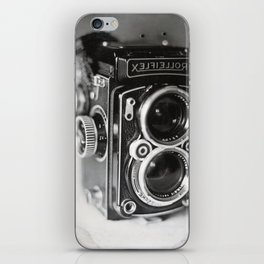 Rolleiflex Camera Tintype iPhone Skin