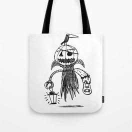 Jack o latern Tote Bag