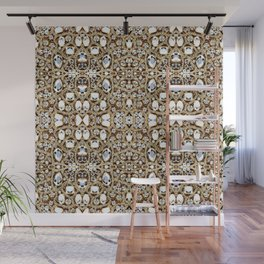 jewelry gemstone silver champagne gold crystal Wall Mural
