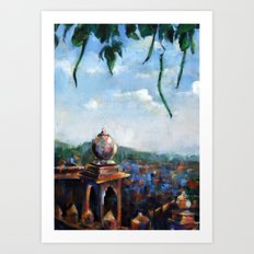 View of Jodhpur Art Print