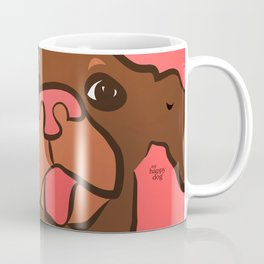 Ellie Mellie coral/brown Coffee Mug