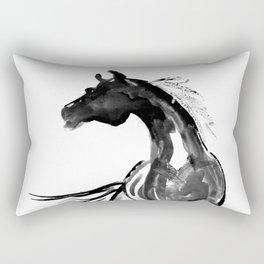 Horse (Ink sketch) Rectangular Pillow