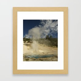 Norris Geyser Basin - Beryl Spring Framed Art Print