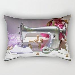 Retro sewing machine Rectangular Pillow