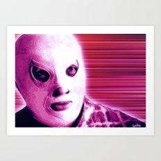 La Lucha - Violet Edition Art Print