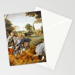 "Pieter Bruegel (also Brueghel or Breughel) the Elder ""The Blind Leading the Blind"" Stationery Cards"