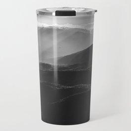Sunrise in North Georgia Mountains BW #blackwhite Travel Mug