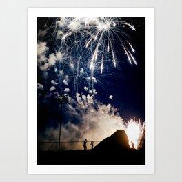 Fireworks #3 Art Print