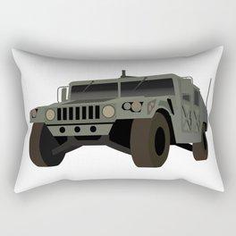 American Army Military Truck Rectangular Pillow