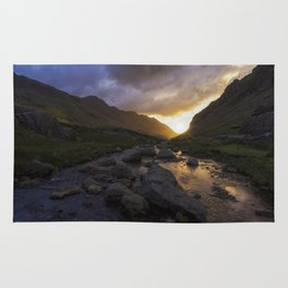 Llanberis Pass Rug