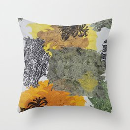 Carbonation Collection: spring Throw Pillow
