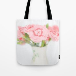 Pink Carnations 2 Tote Bag