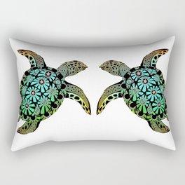 Terrapin 2 Rectangular Pillow