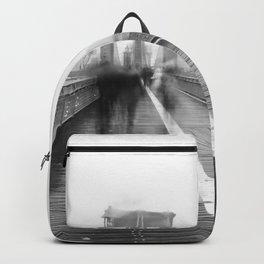 Brooklyn Bridge and Rain Backpack