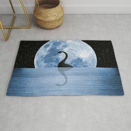 Nessie Starry Night - Loch Ness Monster Rug