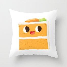 Baby Cakes - Carrot Cake Throw Pillow
