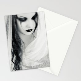 Lonely Pierrot Stationery Cards