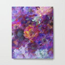 Flower storm Metal Print
