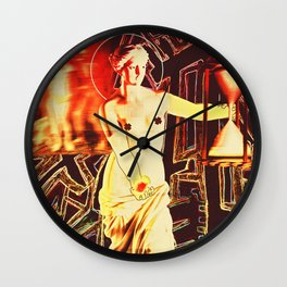 The Haymaker's Prodigy Wall Clock