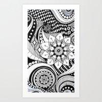 finding a path Art Print