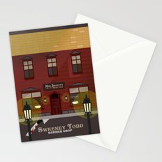 sweeney todd  Stationery Cards