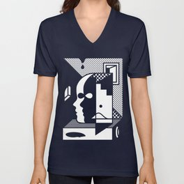 Stairs To The Attic Unisex V-Neck
