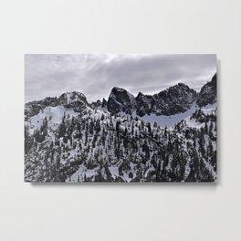 Snow Lake Trail Metal Print
