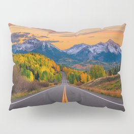 The Road To Telluride Pillow Sham