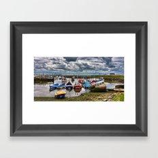 The Fishing Fleet Framed Art Print