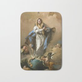 The Immaculate Conception by Giovanni Battista Tiepolo (c 1768) Bath Mat
