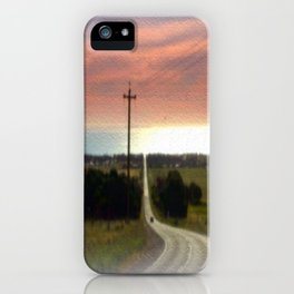 Road to Jervis Bay iPhone Case