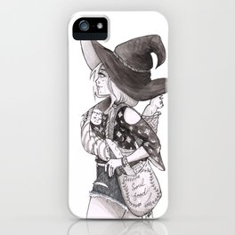 Soul Food Witch iPhone Case