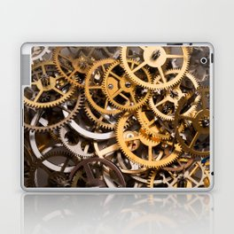 Cogwheels background Laptop & iPad Skin