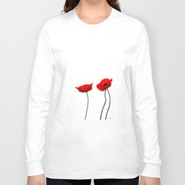 Simply poppies Long Sleeve T-shirt