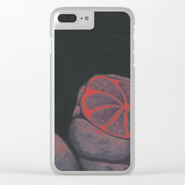 Monolopoly Fruit Clear iPhone Case