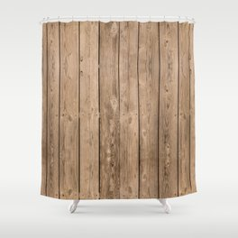Got Wood Shower Curtain