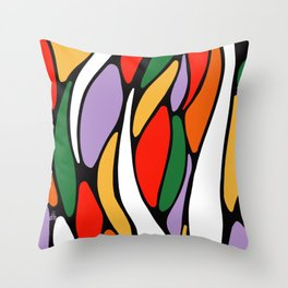 J'y arrive-Getting there- Serré. Throw Pillow