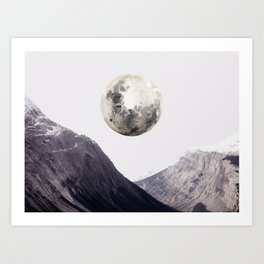 High Moon Art Print