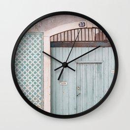 The mint door Wall Clock