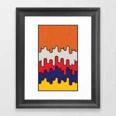 Lichtenstein Framed Art Print