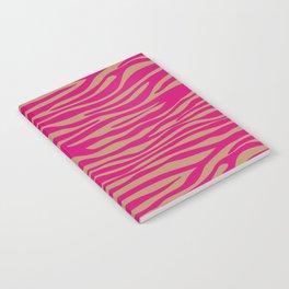 Safari Wild Zebra Notebook