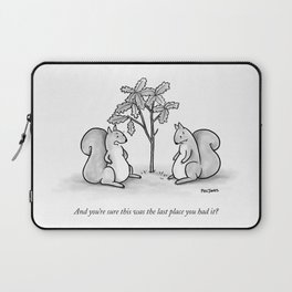 Forgetful Squirrel Laptop Sleeve