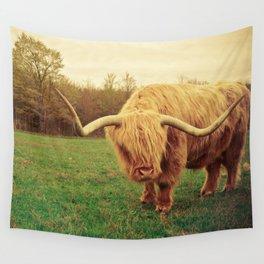 Scottish Highland Steer - regular version Wall Tapestry