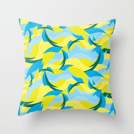 BP 58 Abstract Throw Pillow